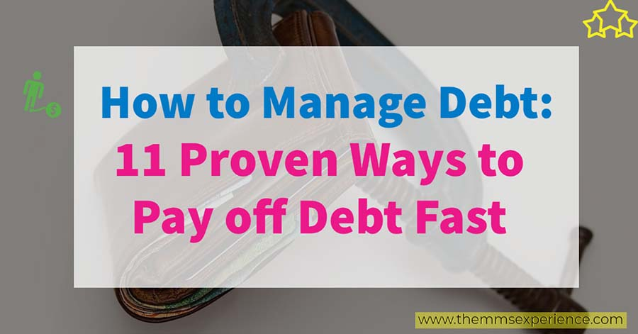 how to manage debt - how to payoff debt fast
