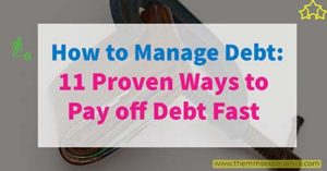 Read more about the article How to Manage Your Debt Easily  11 Best Ways to Pay Off Debt