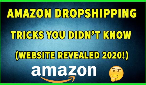 Amazon Dropshipping Explained- How I make PROFIT FAST (Revealed)
