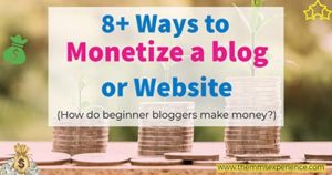 8+ Ultimate Ways to Monetize a Blog or Website in 2021