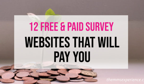 Best Free & Paid Surveys Websites to Make Money Online in 2020 & 2021