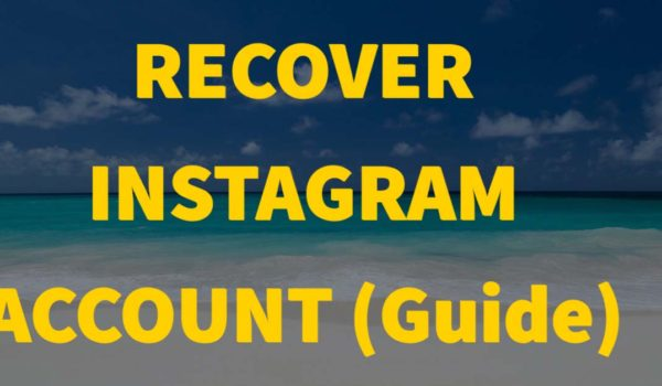 How to Recover a Disabled/Hacked Instagram Account Fast | Recover Instagram Account