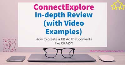 ConnectExplore review _All Facebook Ads secrets for low CPC