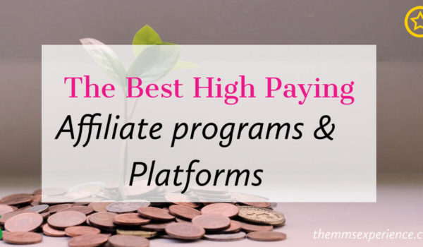 45+ Absolute Best High Paying Affiliate Programs (2021)