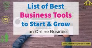 Favorite Business Tools to Start and Grow an Online Business