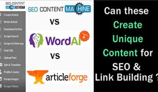 SEO Content Machine Review: Pros & Cons (vs Article Forge & Wordai 4)