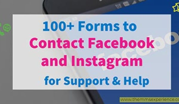 How to Contact Facebook & Instagram for Support & Get Help [Ultimate Guide]