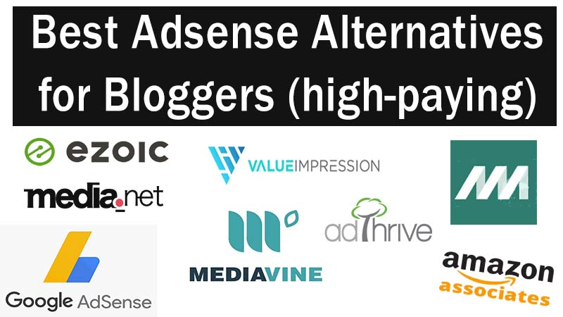 best ad network - adsense alternatives for bloggers - high paying