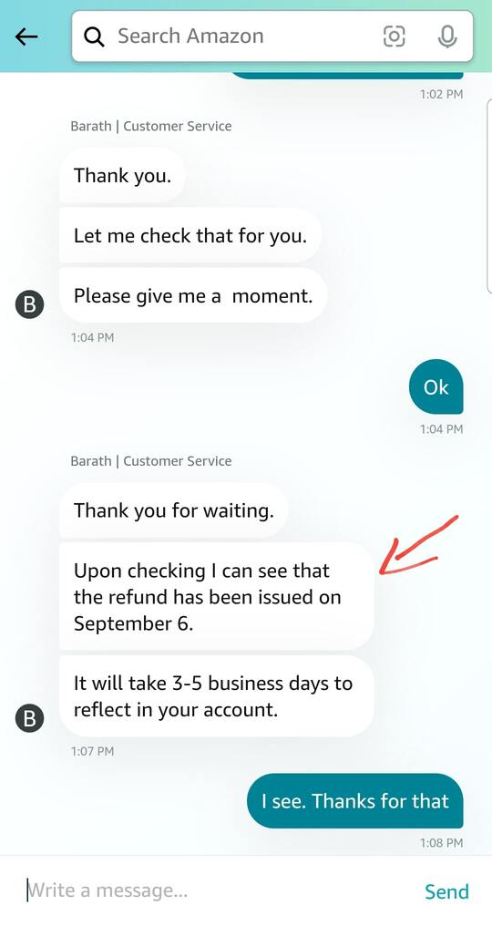 how to contact amazon customer service via live chat