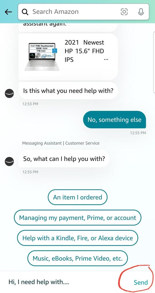 how to contact amazon support. amazon customer service chat