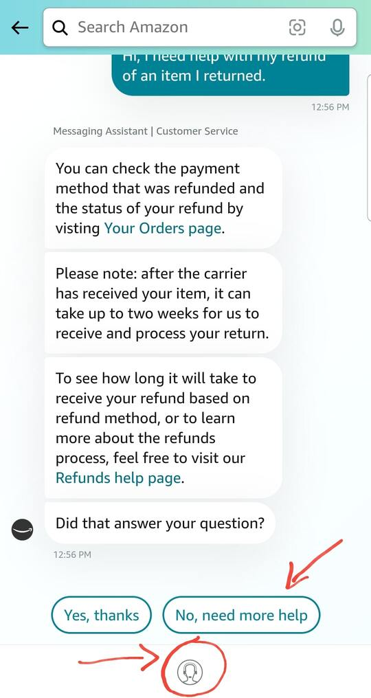 how to contact amazon customer service - live chat